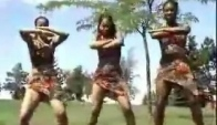 African Camp Somali Girls Dance