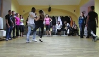 Andre Negrao's demo after a samba de gafieira class