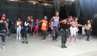 Angolan Boy is Back With Fresh Kuduro class with dancers Angola Os maps potentness