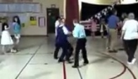 Austin doing the Wobble th grade dance Cherokee Elementary School