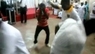 Azonto Battle At Church