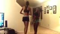 Azonto Dance two girls