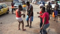 Azonto Dance with a surprise ending Lmfao