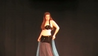 Belly dance by Holly American Cabaret Veil Piece