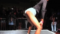 Best Twerk Contest - Guy Gets Tripled Teamed by Twerkers