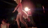 Booboo Darlin slow motion remix burlesque dance