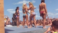 Booty shaking contest Cancun Spring Break