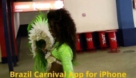 Brazilian Carnival Samba Dancer