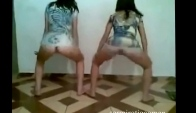 Brazilian sexy girls dancing only panties