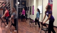 Burlesque Dance class at Vitality Fitness