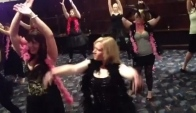 Burlesque Hen party dance class