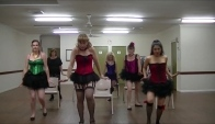 Burlesque Troupe Chair Choreography