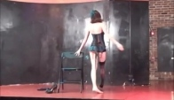 Burlesque chair dance to Strong by Velvet Chain