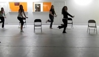 Burlesque dance class- Danceography Studio last friday night