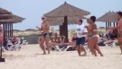 Cape Verde Dancing Man on Riu Funana Beach