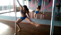Combo Pole Dance Giros Shoulder