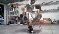 Cute Guy Gives A Beast LapDance