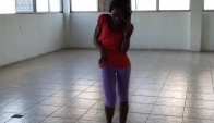 D' Queen Latesha dancing freestyle Rdx Jump
