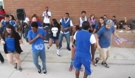 Dance Society Flash Mob Wobble at Ssc Oviedo campus