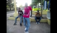 Dembow Dance on street