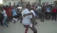 Girl Picks Up Mad And Starts Daggering