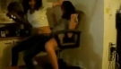 Girl on Girl Lap Dance party