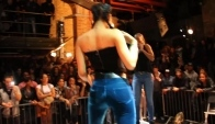 Girls in Jeans Faceoff in Shake Twerking Contest
