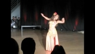 Gypsy Love Performs Belly Dance Solo to Yearning at Dance Noir