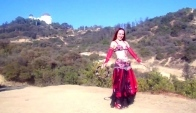 Gypsy bellydance with tambourine