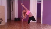 Hardcore pole fitness favorite pole dance tricks