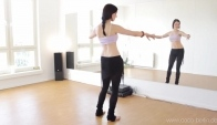 Hip Circle Walk - Learn how to Belly dance