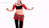 Hip Circles and Layer Shimmy Belly Dance