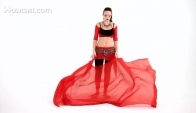 How to Sway with a Veil Belly Dance