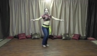How to belly dance umi into hip drop