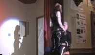 International Ms Leather Lapdance