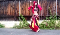 Latin Gypsy Belly Dance by Sofia Metal Queen Traditional barefoot dance