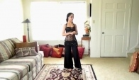 Learn to belly dance - the barrel turn