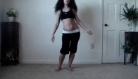 Learn to belly dance how to do an Egyptian
