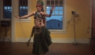 Lisa Belly dance at Avant Gareden Gypsy Tribal