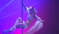 Living Dead Doll Pole dance and Burlesque