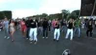 Lucenzo flash mob par Abraham Solomon
