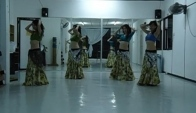 Malaysia Belly Dance Fusion Practice to Gypsy
