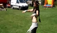 Marianne dancing some gypsy style Belly dance