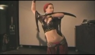 Melusina - Tribal Fusion Sword Belly Dance