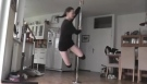 My First Pole Dance Moves - Beginners