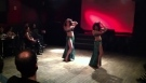 Nikki and Anjelica perform belly dance