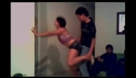 Perreo intenso mix dance in room