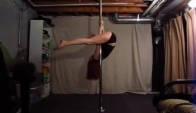 Pole Dance Tutorial - Spinning Inverted V