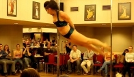 Pole dance - semifinle profesionl - Stacey