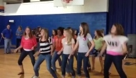 Rms dance Girls doing the wobble
